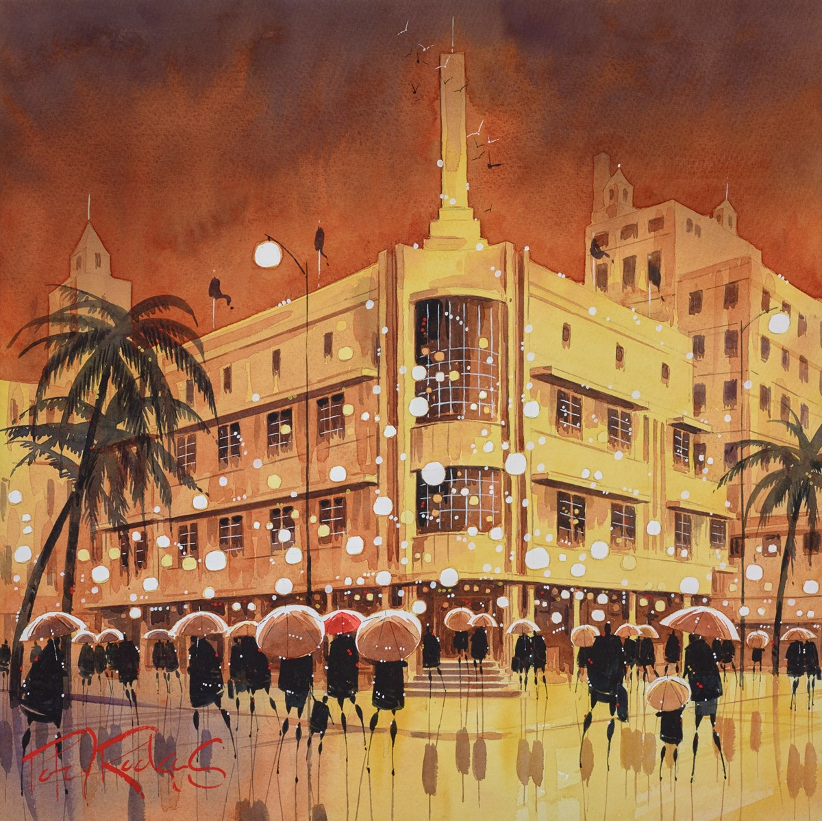 Deco Reflections by peter j rodgers -  sized 20x21 inches. Available from Whitewall Galleries